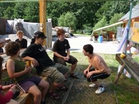 Letní pobyt včelaříků 2009