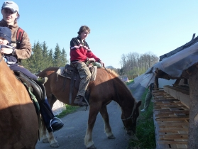Jarní pobyt na farmě duben